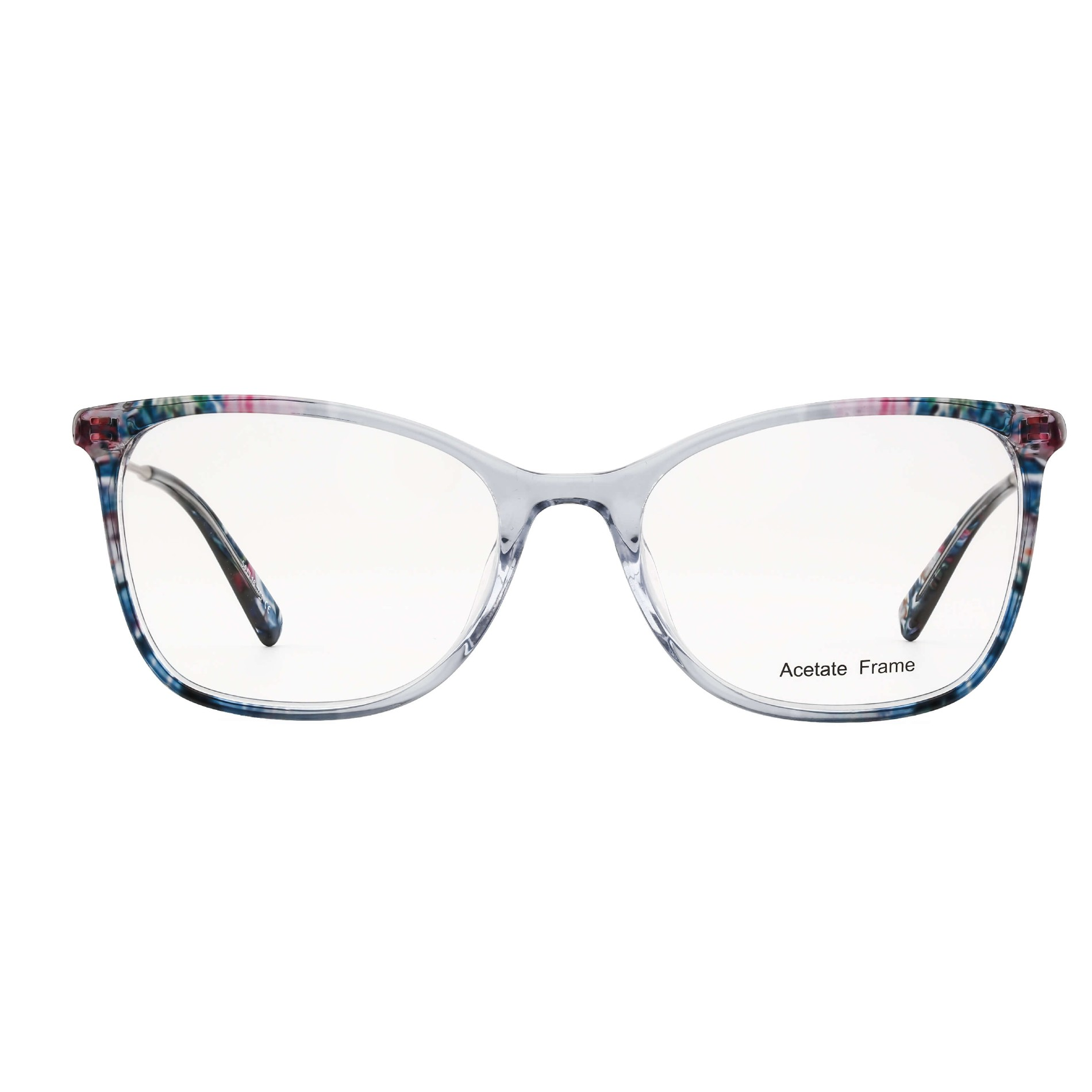 Ladies Full Colour Mixture Acetate Frames with Metal Temple Manufacturers, Ladies Full Colour Mixture Acetate Frames with Metal Temple Factory, Supply Ladies Full Colour Mixture Acetate Frames with Metal Temple
