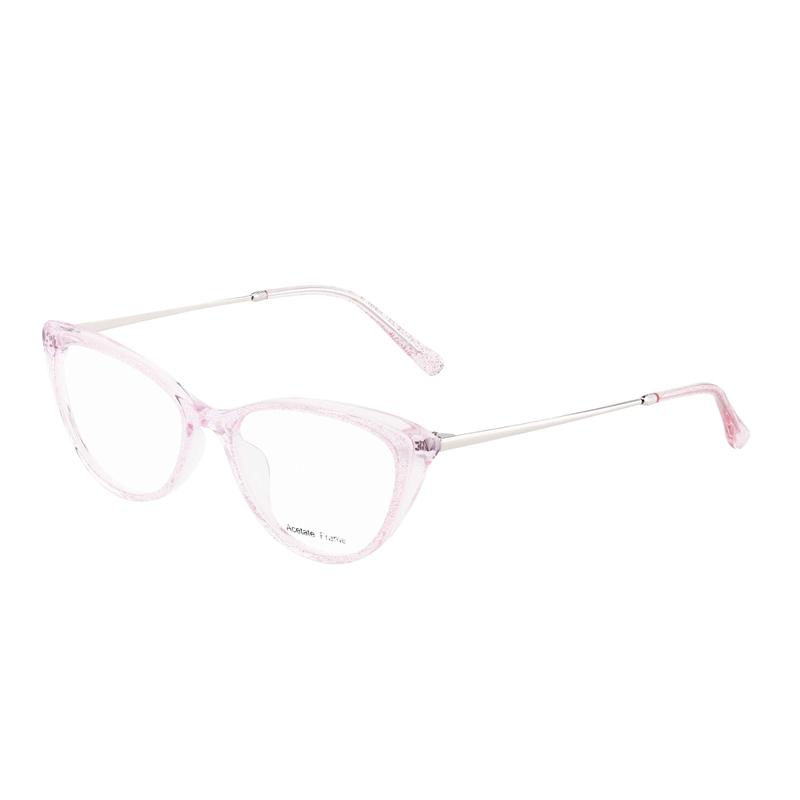 Armações de óculos ópticos de acetato para mulheres