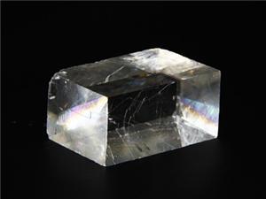 Calcite Birefringent Crystal