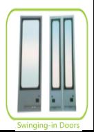 Custom Penumatic Inswing Bus Door