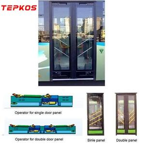 Electric Double Inswing Bus Door System