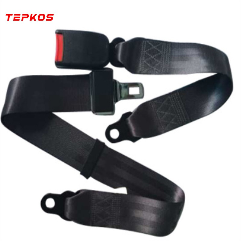 Polyester Different Points Bus Seat Safety Belt