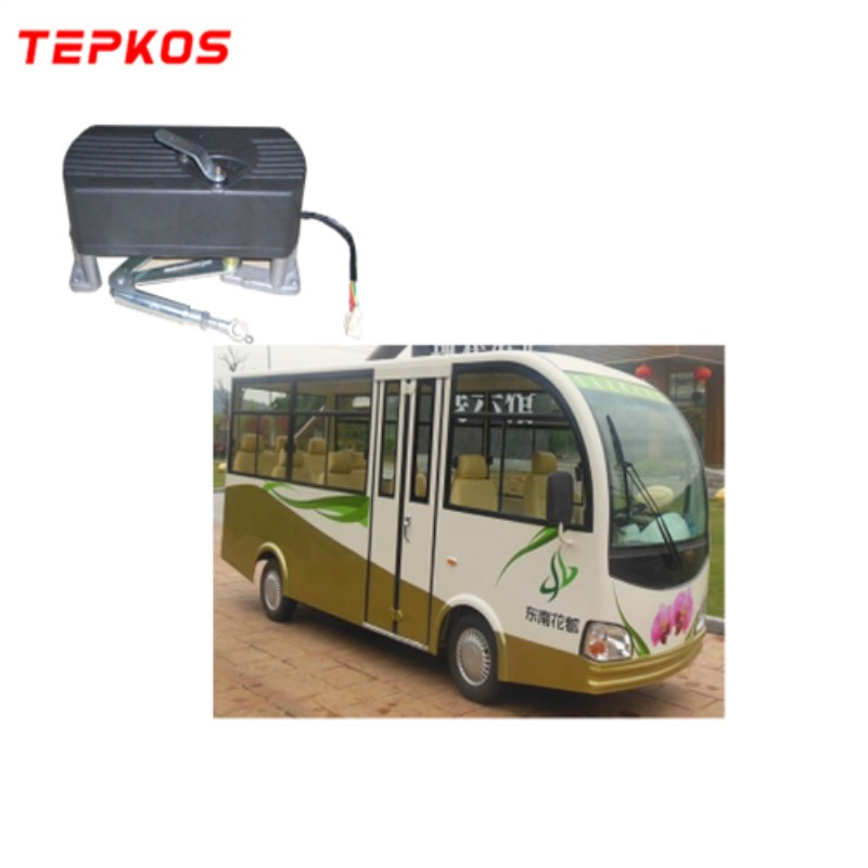Electric Bifolding Bus Door Emergency Release