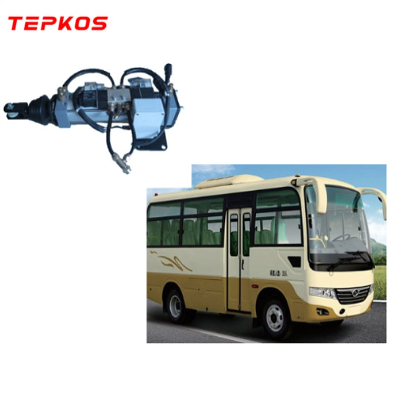 Antipinch Pneumatic Bifold Bus Door System