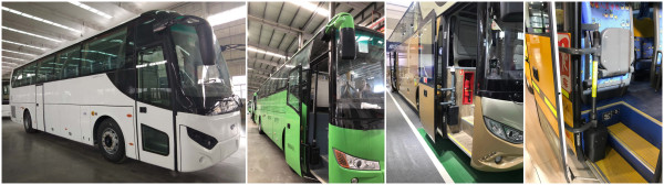 China Pneumatic Bus Door