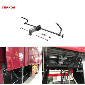 Pneumatic Coach Luggage Door Mechanism With Lock