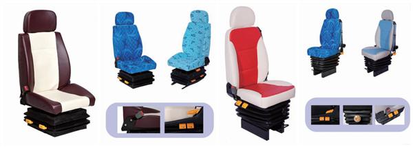 Pneumatic driver seat