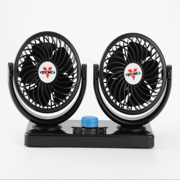 4 inch Double Head Electric Car Fan