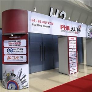 Shanghai TRION present in Philauto Manila 2019