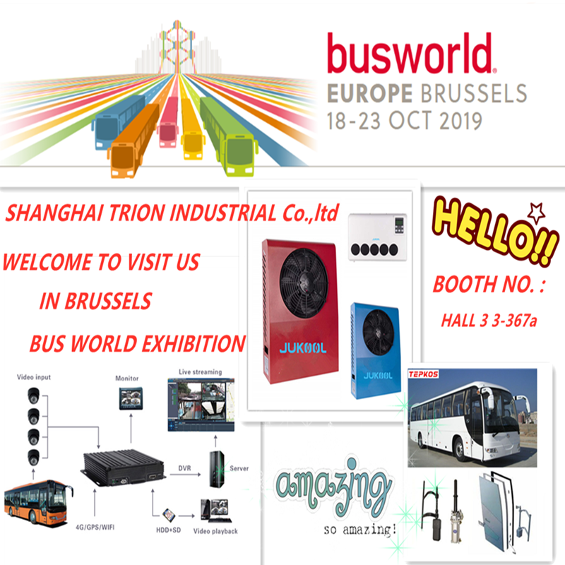 Welcome to visit us In Brussels Bus World Exhibition from Oct.18-21