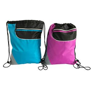 Ripstop Sport Drawstring With Front Zip
