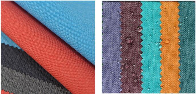 custom backpack fabric