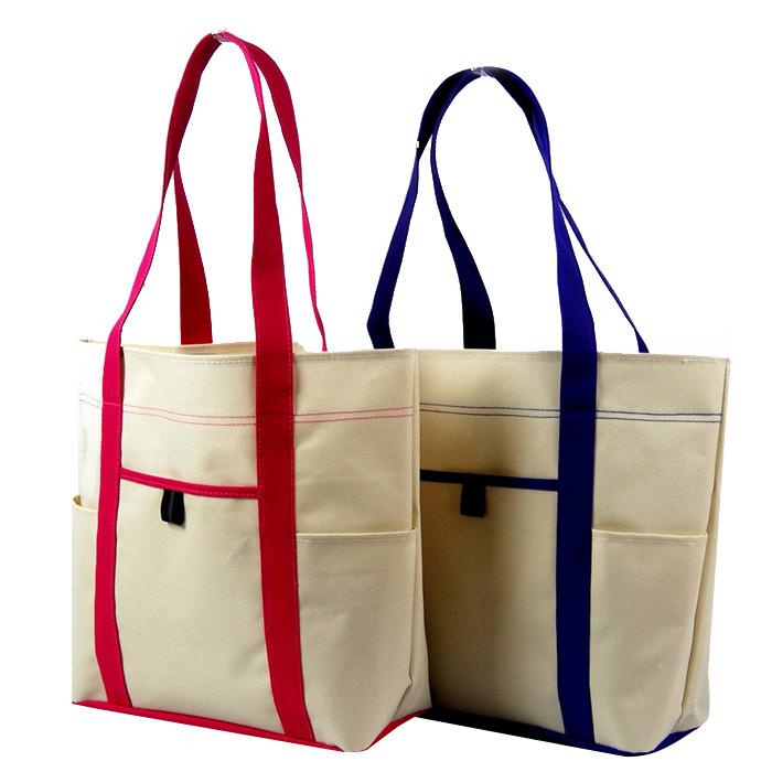 Индивидуальные пляжные сумки Пользовательские милые пляжные сумки на молнии