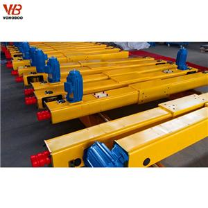 Open Pinion Type Double Girder Crane End Carriage