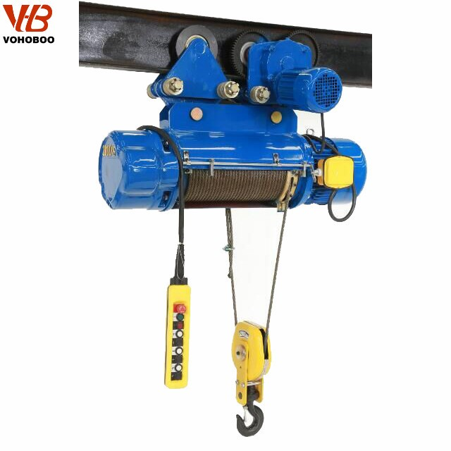 MD1 Double Lift Speed Wire Rope Electric Hoist