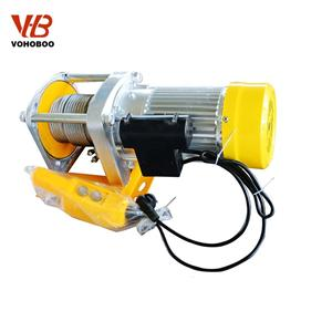 Aluminum Shell Electric Winch