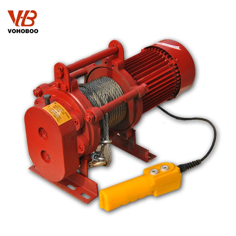 Supply Aluminum Shell Electric Winch,single phase electric winch Manufacturers