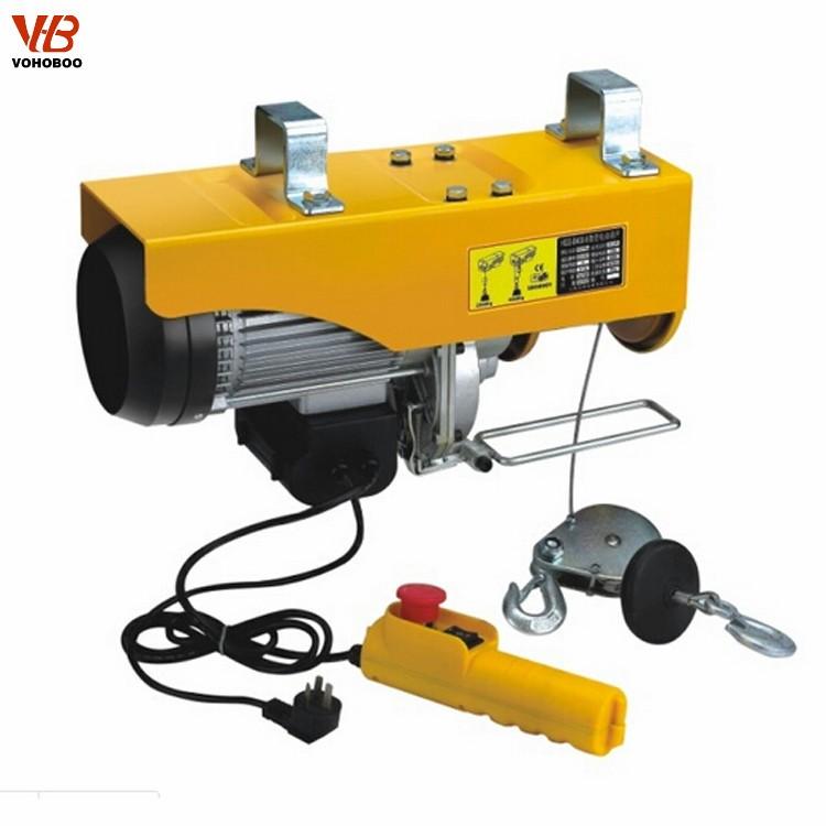 China Trolley Type Mini Electric Hoist,Factory pa100 mini electric hoist,micro electric hoist Produce