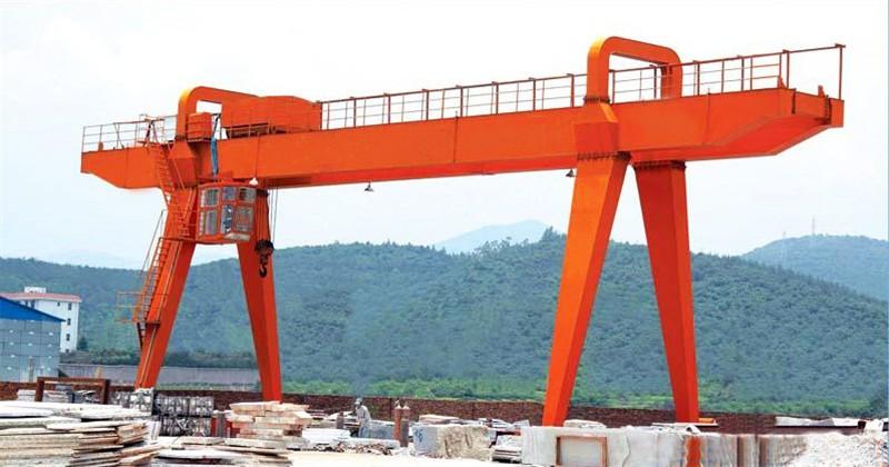 China Brands Indoor Outdoor Double Girder Gantry Crane,50 ton double girder gantry crane specification Suppliers