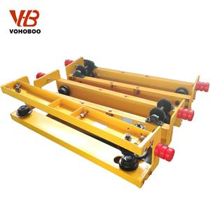 Low Headroom Suspension Crane End Carriage