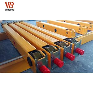 European Type Single Girder Crane End Carriage