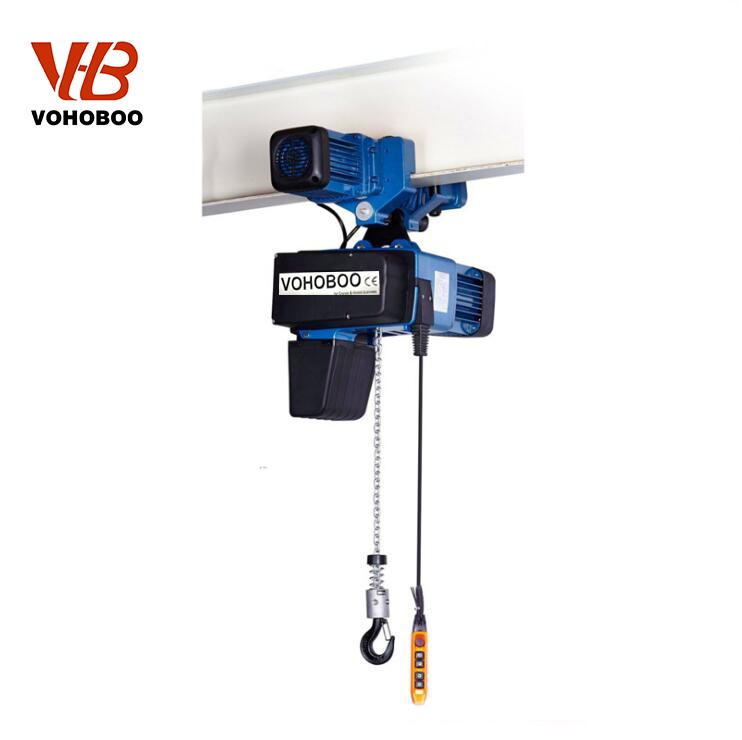 European Type Electric Chain Hoist With Electric Trolley Manufacturers, European Type Electric Chain Hoist With Electric Trolley Factory, Supply European Type Electric Chain Hoist With Electric Trolley