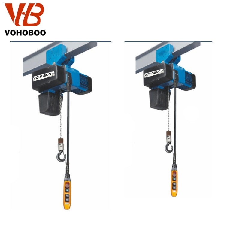 European Type Electric Chain Hoist With Maual Trolley Manufacturers, European Type Electric Chain Hoist With Maual Trolley Factory, Supply European Type Electric Chain Hoist With Maual Trolley