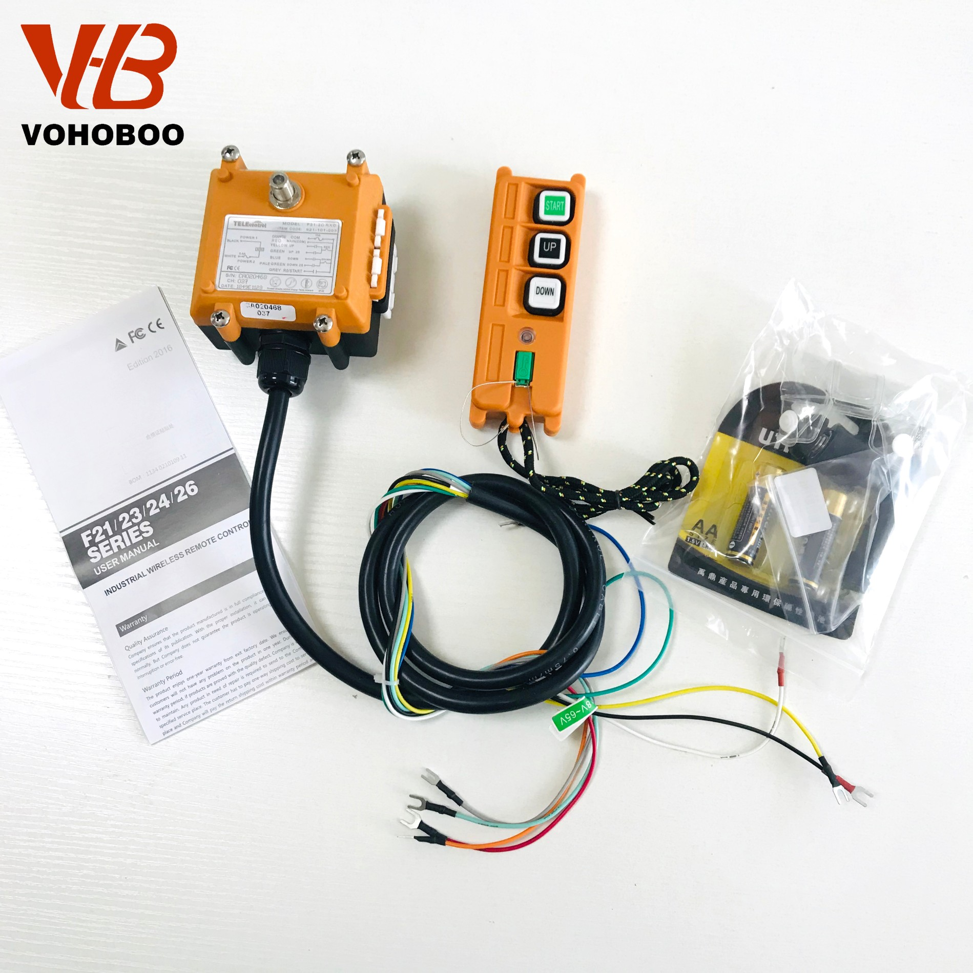 F21-2S/2D Industrial Remote Controller