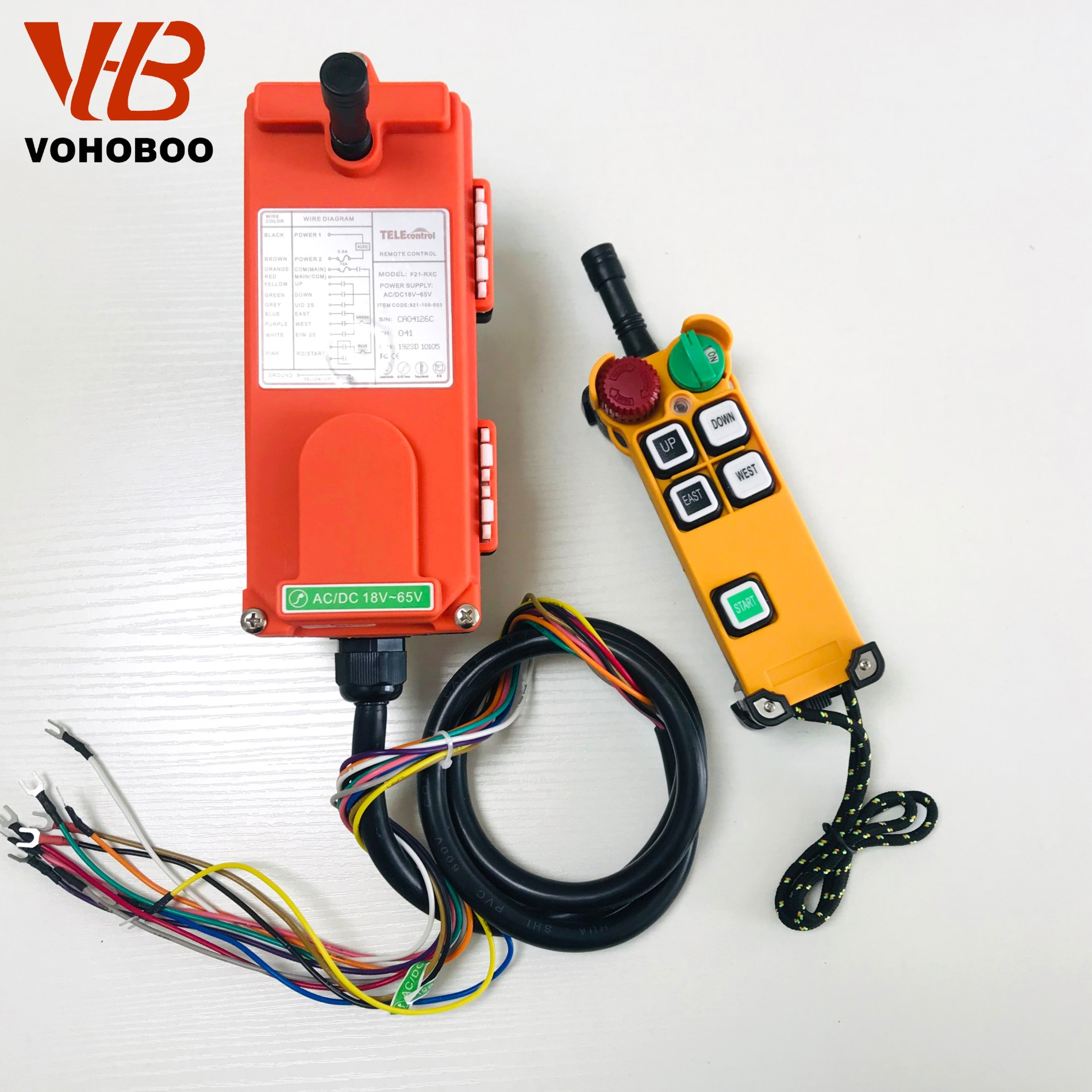 F21-4S/4D Industrial Remote Controller