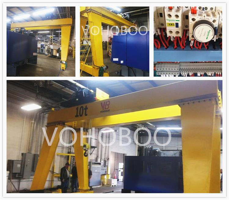 50 ton double girder gantry crane specification Suppliers