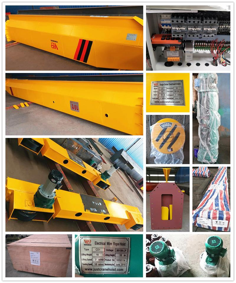2Ton Gantry Crane Factory