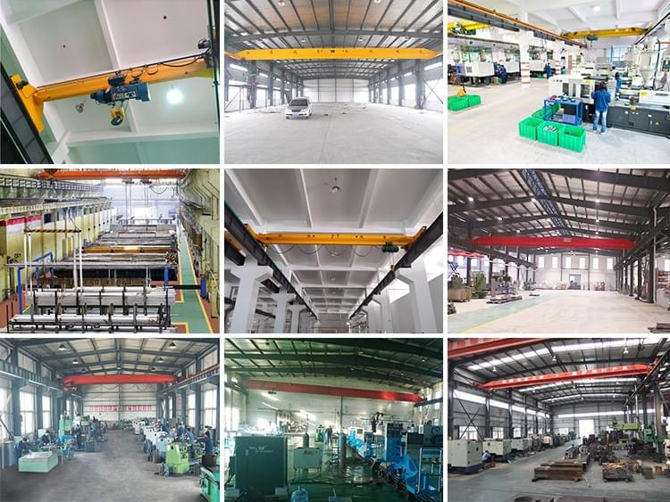 Supply Single Girder Overhead Crane price 5 ton