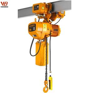 HHBB Electric Trolley Type Electric Chain Hoist