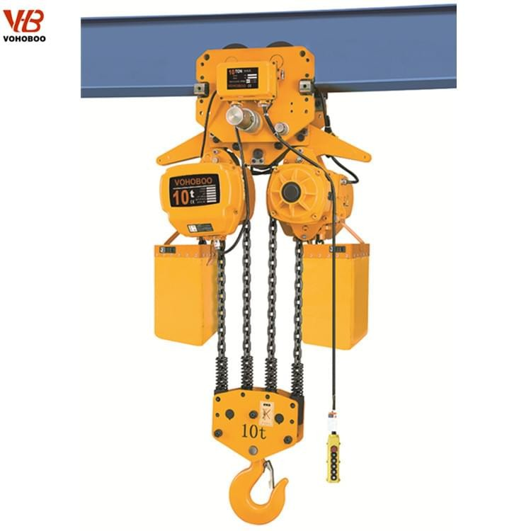 HHBB Electric Trolley Type Electric Chain Hoist Manufacturers, HHBB Electric Trolley Type Electric Chain Hoist Factory, Supply HHBB Electric Trolley Type Electric Chain Hoist