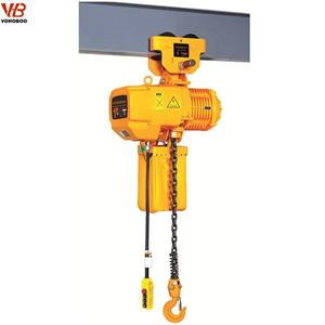 HHBB Manual Trolley Type Electric Chain Hoist