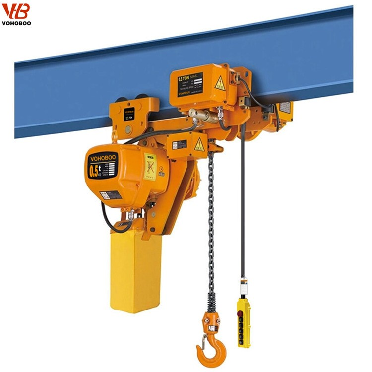 HHBB Low headroom Type Electric Chain Hoist