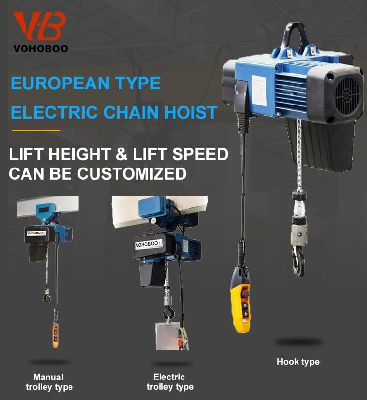 European electric chain hoist