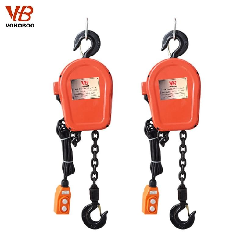DHS Type Electric Chain Hoist 1T-10T Lifting Capacity Manufacturers, DHS Type Electric Chain Hoist 1T-10T Lifting Capacity Factory, Supply DHS Type Electric Chain Hoist 1T-10T Lifting Capacity