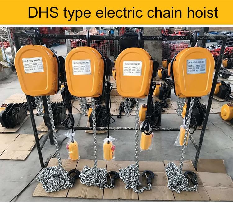 DHS type hoist