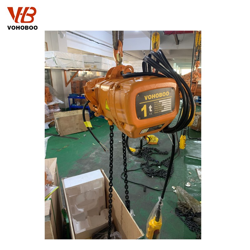 How to ensure the safe use of electric chain hoist?