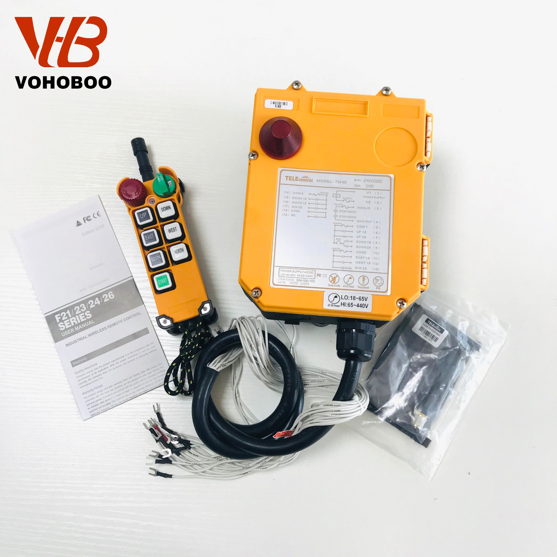 F24-6S/6D industrial remote controller