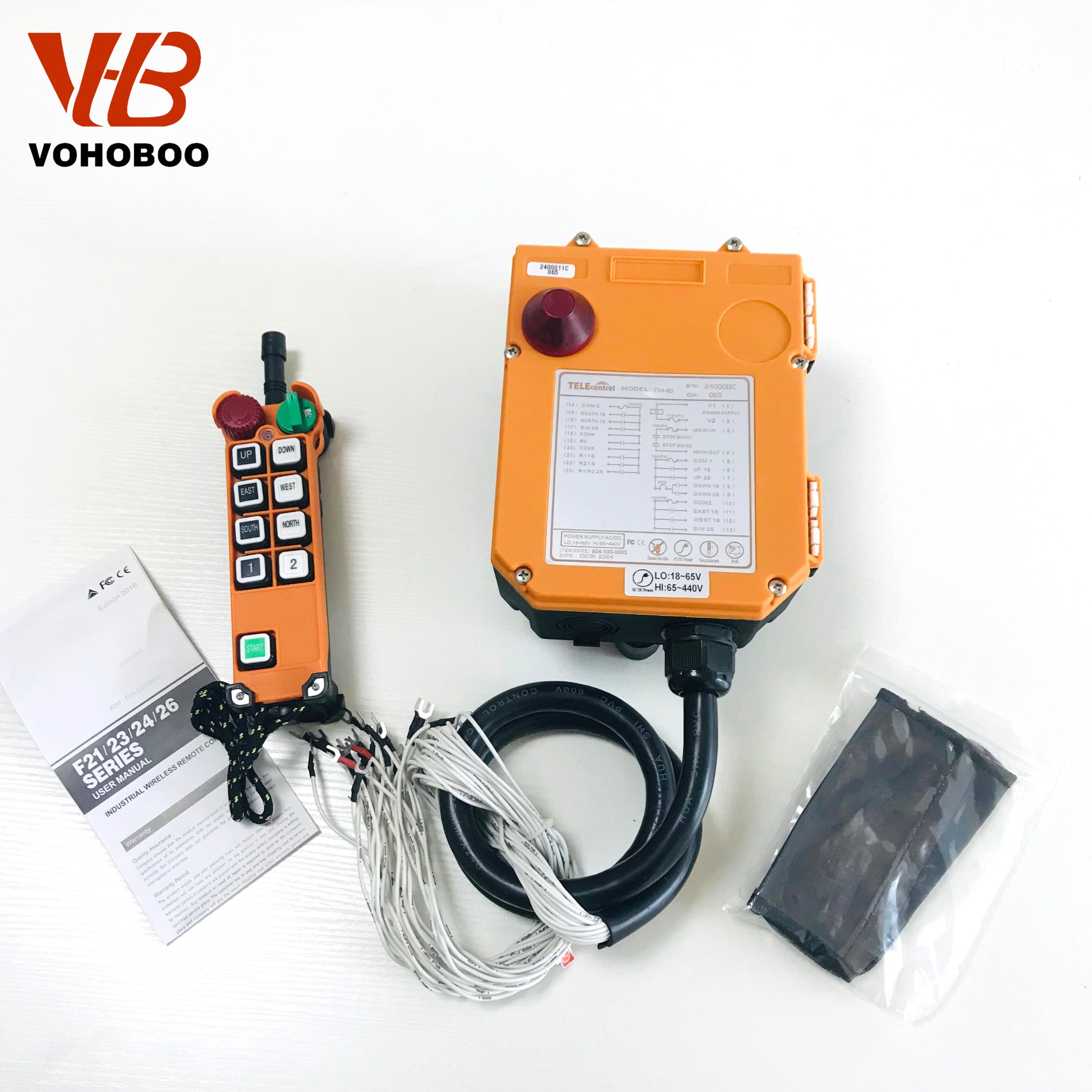 F24-8S/8D industrial remote controller
