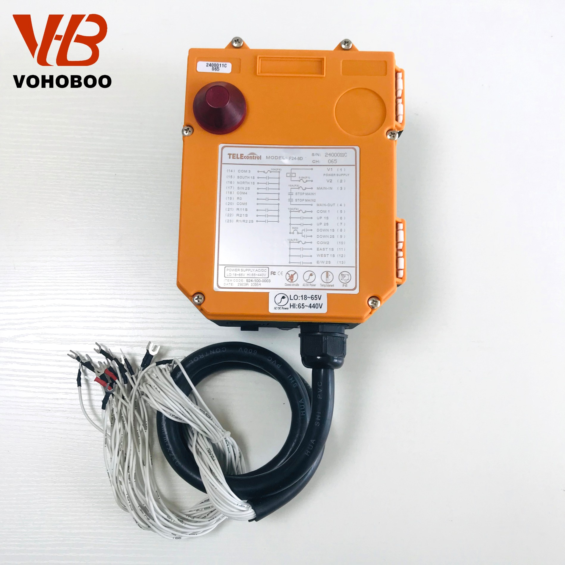 F24-8S/8D industrial remote controller Factory