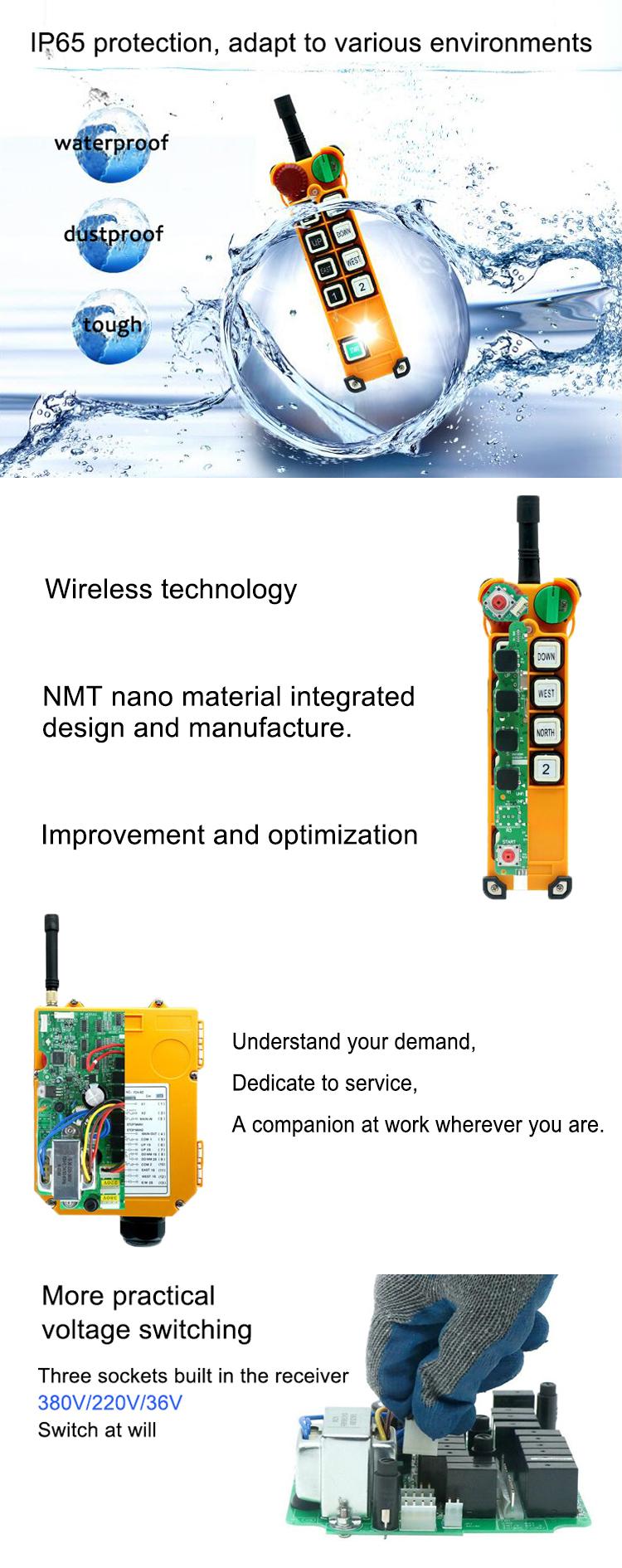 industrial remote controller