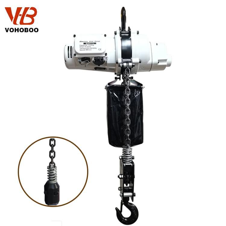 110V/220V Single Phase Mini Electric Chain Hoist