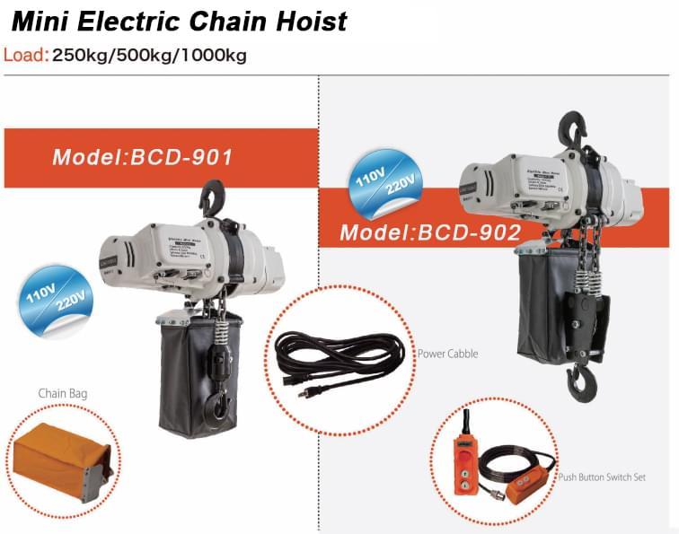 110v chain hoist