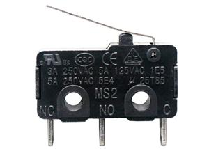 Miniature Microswitch With Lever