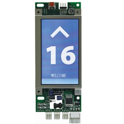 Elevator LCD indicator