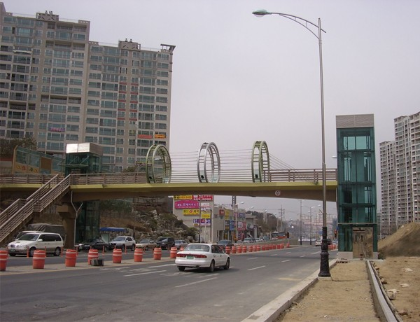 Skybridge Project in South Korea