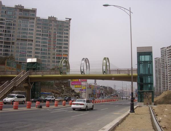 پروژه Skybridge  در کشور کره جنوبی